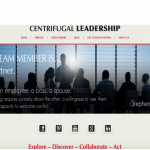 Make Your Mark Web Design Centrifugal Leadership Homepage Banner picture
