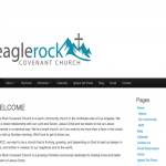 Make Your Mark Web Design Eagle Rock Covenant homepage picture