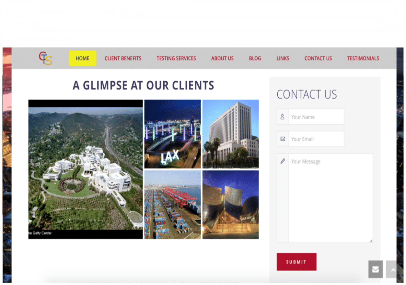 Make Your Mark Web Design CTS clients picture